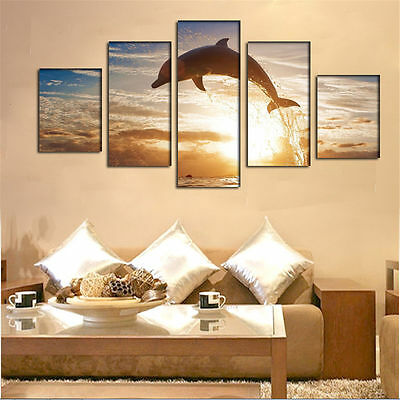 Large Canvas Huge Modern Home Wall Decor Art Oil Painting Picture Print No Frame 3