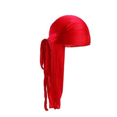 Unisex Headwrap Men Women Bandana Turban Cap Durag do doo du rag Long Tail Hat # 3