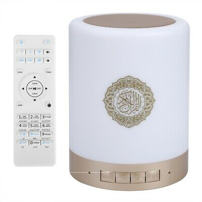 Portable Quran Wireless Bluetooth Speaker LED Touch Lamp TF Card FM Radio NEW 3
