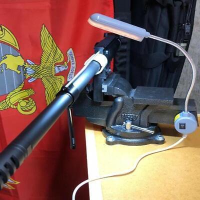 LED Lighting Flexible Gooseneck Arm Work,Magnetic Base for Workbench Lathe Drill 11