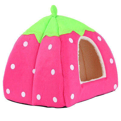 Soft Pet Dog Cat Bed House Kennel Doggy Puppy Warm Cushion Basket Pad Mat S-XL 12