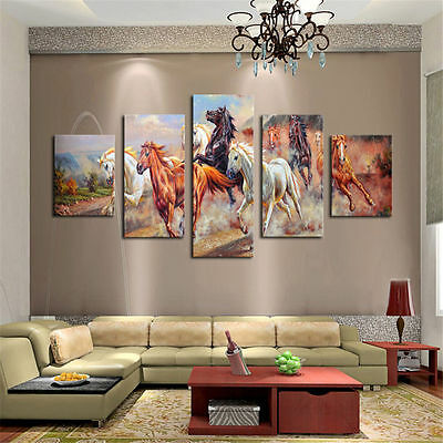 Large Canvas Huge Modern Home Wall Decor Art Oil Painting Picture Print No Frame 6