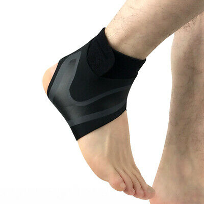 Elastic Ankle Foot Support Brace Sleeve Guard Football Basketball Protector Film 8