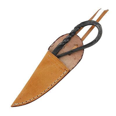 Silkweavers Medieval Full Tang Fixed Blade Renaissance Knife 4