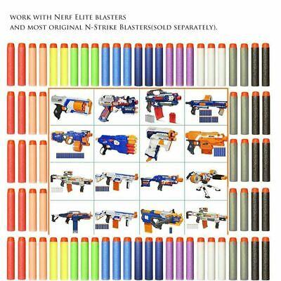 Round Head Bullets For NERF EVA N-Strike Elite Refill Toy Gun Darts Blaster 2