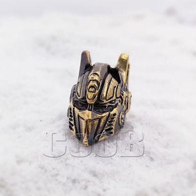 CooB Paracord Bead Beads Charm for Lanyard Bracelet Optimus Prime Transformers