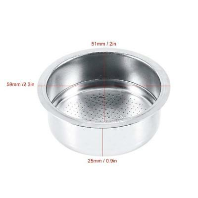 Coffee Filter Coffee 2 Cup 51mm Pressurized Filter Basket For Breville De... New 3