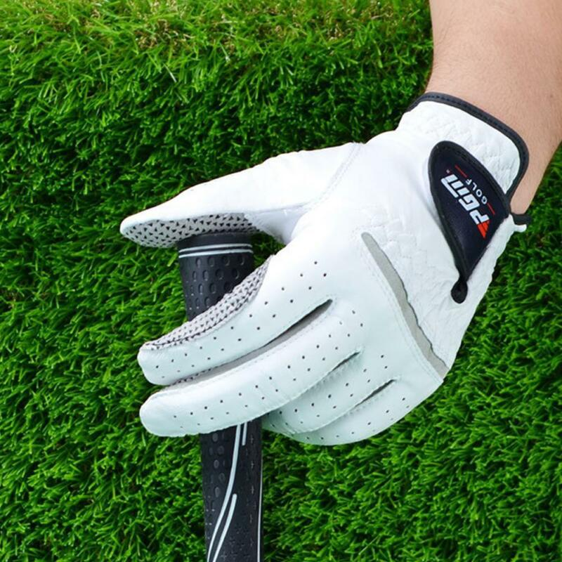 New Breathable 2018 Stratus Sport Leather White Golf Gloves Pick Size 5