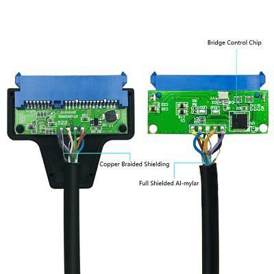 "USB 3.0 to 2.5"" SATA III Hard Drive Adapter Cable/UASP SATA to USB3.0 Converter 6"