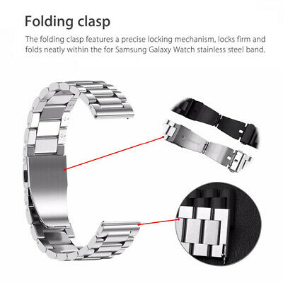 Stainless Steel  Strap Metal Watch Band For Samsung Galaxy Watch 42/46mm Gear S3 5