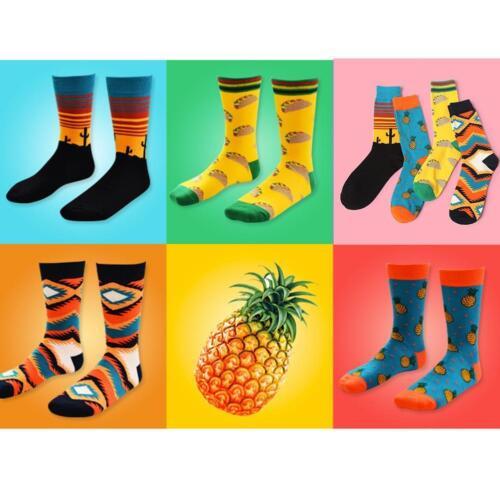 Neu Cotton Happy Socks Warm Gradient Colorful Casual Dress-Socks Hot Sale Nett