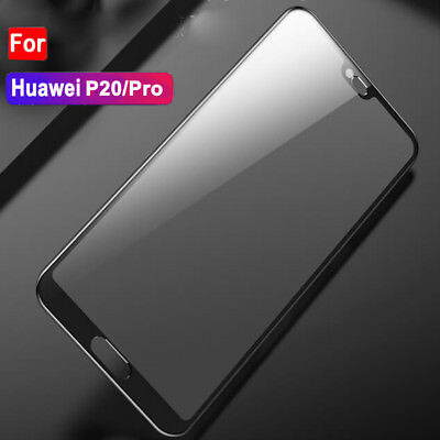 For Huawei P20 Pro Lite Premium Full Cover Tempered Glass Film Screen Protector 12