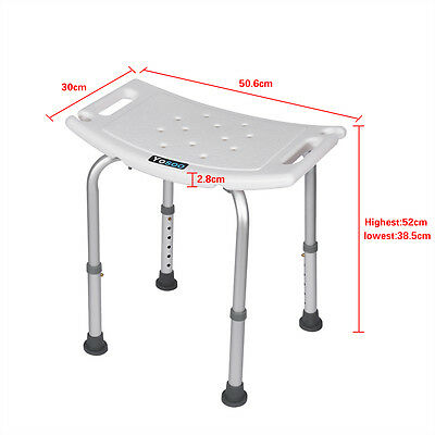 Verstellbar Badhocker Duschhocker Badestuhl Duschstuhl Duschhilfe Bis 80kg A+++