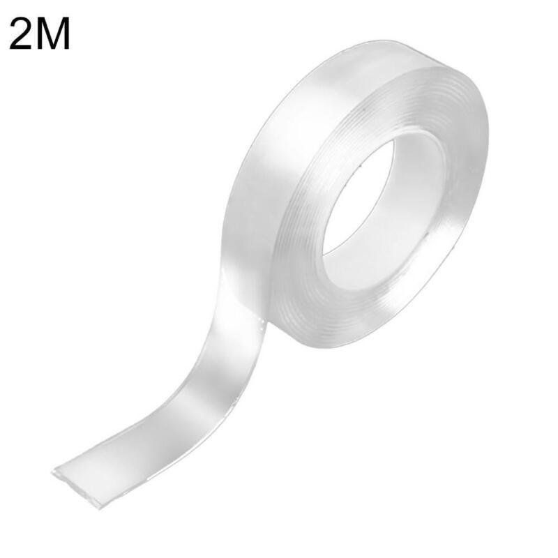 Nano Magic Tape Double-Sided Traceless Washable Adhesive Invisible Gel Anti-Slip 5
