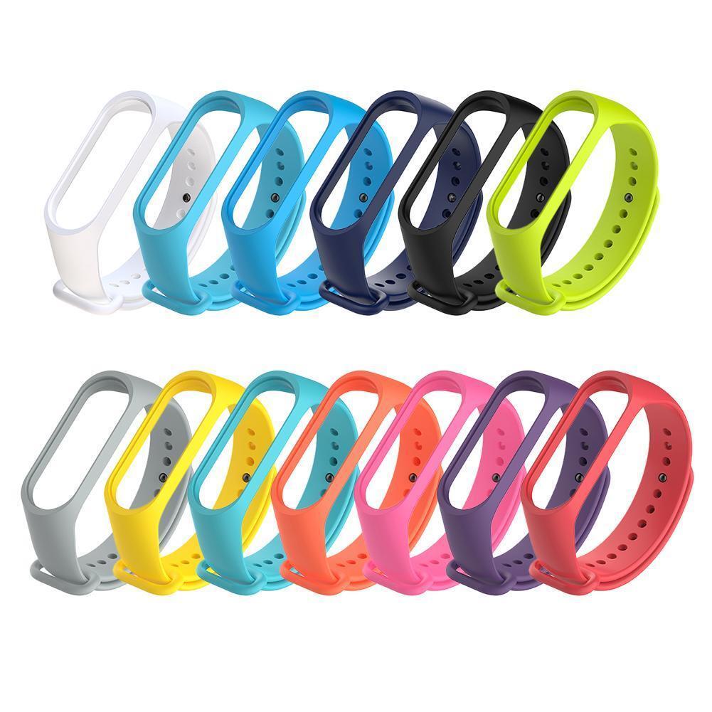 For XIAOMI MI Band 4 /MI Band 3 Silicon Wrist Strap WristBand Bracelet FR RR 7