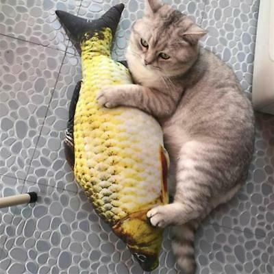 Cat Wagging Fish Realistic Plush Simulation Grass Carp Doll Fish Plush Toy 3