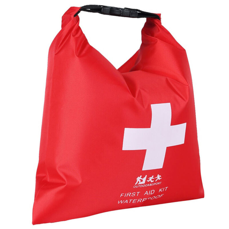 4x Waterproof Empty First Aid Kit Dry Bag Sack Outdoor Camping Travel Hiking