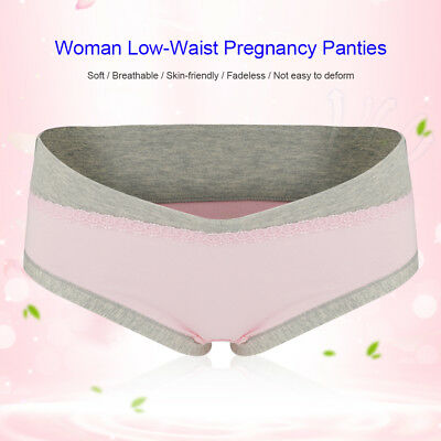 Maternity Panties Cotton Pregnant Women Low-waist Briefs Underwear M/L/XL/XXL 10