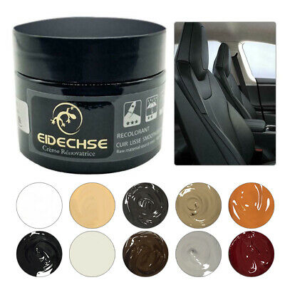 50Ml Eidechse Leather Recolouring Balm Cream Restorer Sofa Chairs 10 Colours A+ 5