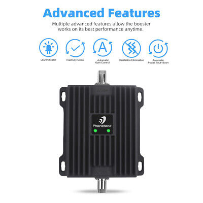 2G GSM 3G LTE 4G Dual Band 850MHz 1700/2100MHz Signal Booster Repeater for Data 3