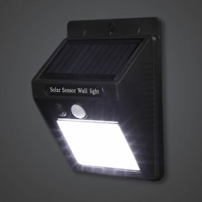 30 LED Solar Powered PIR Motion Sensor Wall Security Light Garden Outdoor Lamp 9