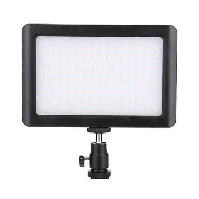 Pad 192 LED Video Light 3200-6000K for DSLR Camera DV Camcorder with Hot Shoe LS 8