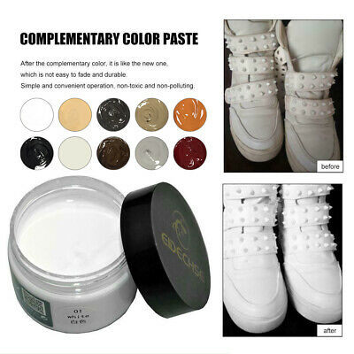50Ml Eidechse Leather Recolouring Balm Cream Restorer Sofa Chairs 10 Colours A+ 3