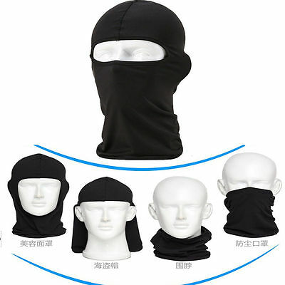 Outdoor Cycling Motorcycle Ski Neck Protecting Lycra Balaclava Full Face Mask GG 5