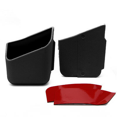 2X Universal Car Auto Accessories Glasses Organizer Storage Box Holder Black W58 3