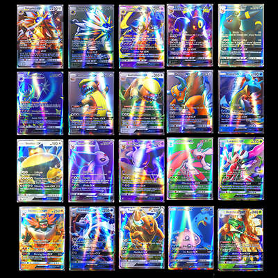 Regalo  200pcs Pokemon GX Carta Tutto MEGA Holo Veloce Arte Figurine Vacanza 9