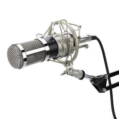 BM800 Condenser Microphone Audio Mic Stand Kit for Studio Recording Broadcasting 2