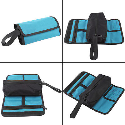 High Quality Hardware Tool Screwdriver Spanner Roll Up Storage Case Pouch Bags