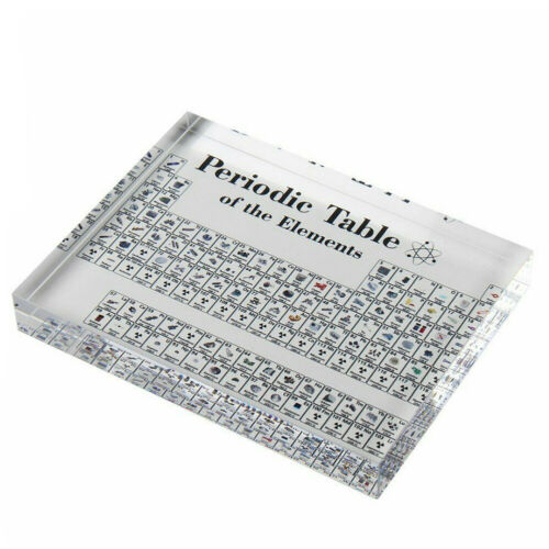 17X12cm Periodic Table Display with Elements Acrylic Student Teacher Gift Desk 4