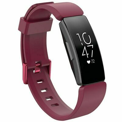 For Fitbit Inspire / Inspire HR Replacement Silicone Wristband Strap Watch Band 10