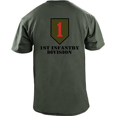 a323ed20 ... US Army 1st Infantry Division Big Red One Veteran Full Color T-Shirt 3