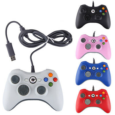Wired / Wireless Game USB Controller Gamepad Joystick For Microsoft Xbox 360 &PC 2