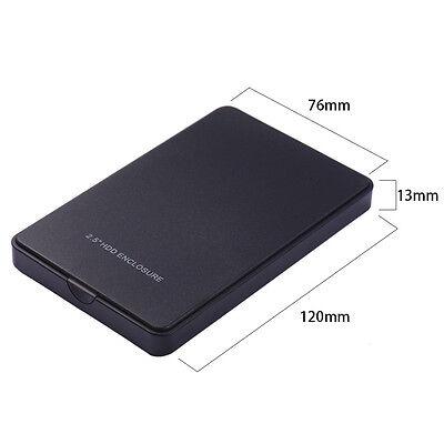 Boîtier Externe pour Disque Dur 2.5'' SATA USB 2.0 Box Enclosure Portatile PC 2