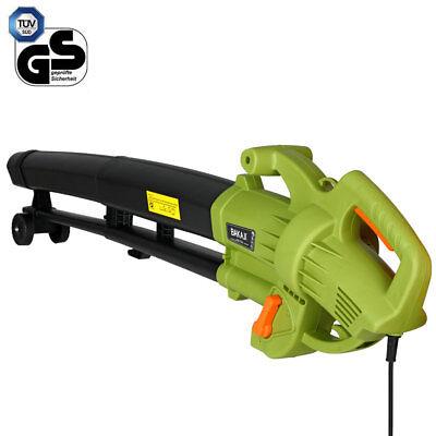 Aspiratore per foglie Trituratore e Soffiatore Elettrico 3000W Aspirafoglie 3in1