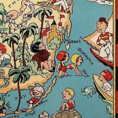 """Map Set  Arkansas /& USA by Ruth Taylor White circa 1933 18/"""" x 24/"""" prints 2 Two"""