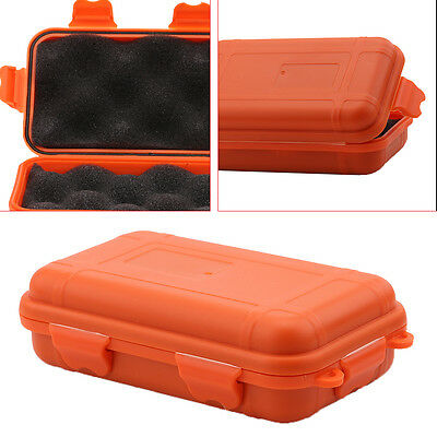 Waterproof Box Container Case Hard Plastic Shockproof Box for Outdoor Sports SS