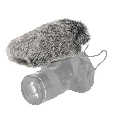 Professional Windproof Windshield Wind Muff for Rode Videomic Microphone LJ 7