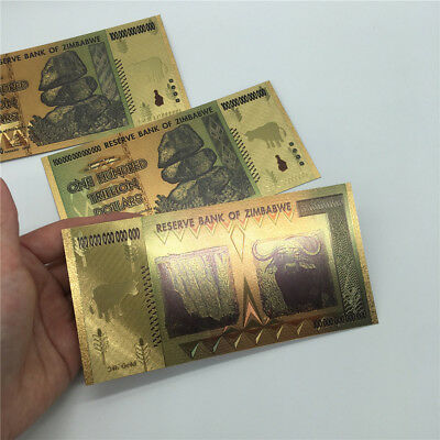 100 Trillion Zimbabwean Dollar Commemorative Banknote Non-currency Collection 10
