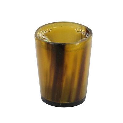 Slot Shots Handmade All Natural Horn Shot Glass Bar Whiskey Set 2