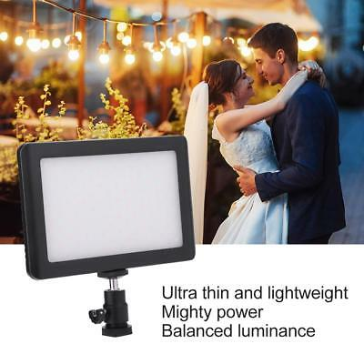 Pad 192 LED Video Light 3200-6000K for DSLR Camera DV Camcorder with Hot Shoe LS 3