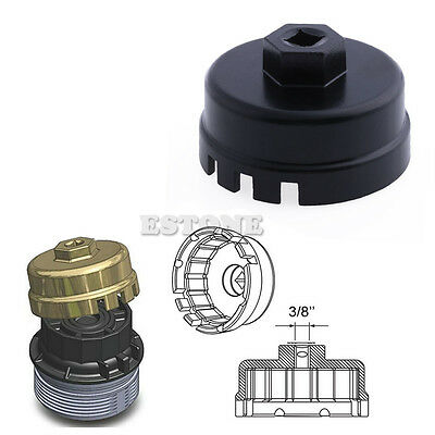 Universal 14 Flutes Oil Filter Wrench Cap Housing Tool Remover for TOYOTA NI5L