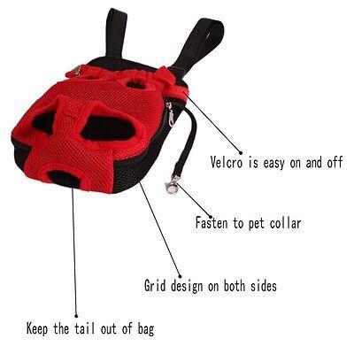 Pet Carrier Backpack Adjustable Pet Front Cat Dog Carrier Travel Bag Legs Out 8