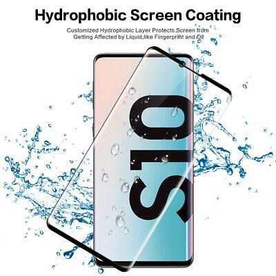 VITRE VERRE TREMPE SAMSUNG S8 S9 S10 Plus Edge FILM PROTECTION ECRAN 3D TOTAL 2