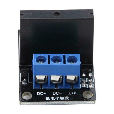 DC 5V/12V 1 Channel Solid State Relay Module Board High & Low Level Trigger 2A 7
