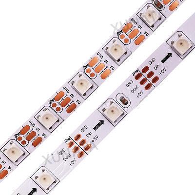 1m 5m 5V WS2812B 5050 RGB 30/60LEDs/M LED Strip ws2812 IC Individual Addressable 4