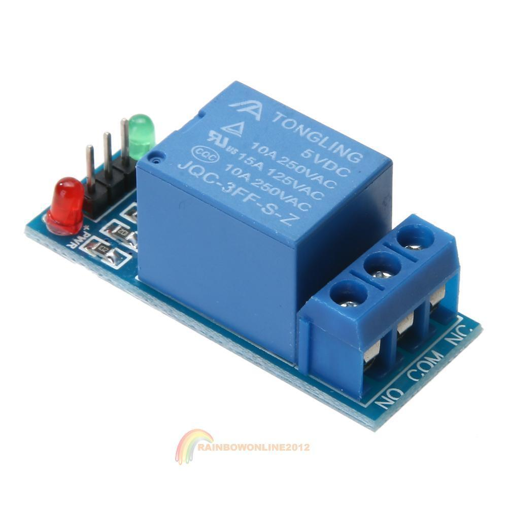 5pcs 1 Channel Dc 5v Timer Relay Switch Module For Arduino Raspberry Diy Ne555 Monostable Time Delay Circuit Red 12v 6 Of 8 Pi Arm Avr
